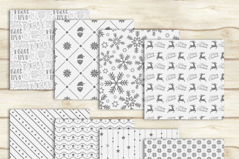 24-luxury-white-and-gray-holiday-christmas-digital-papers