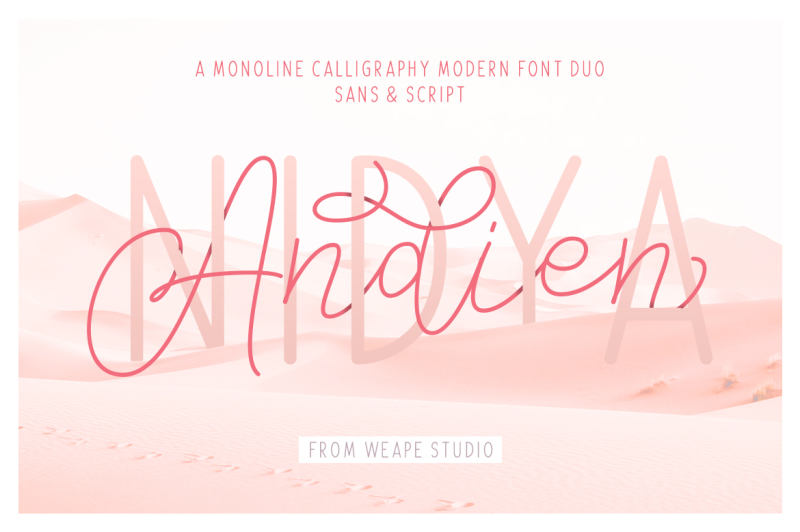 andien-nidya-script-and-sans