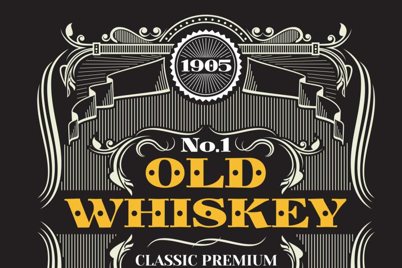 retro-victorian-whiskey-vector-label