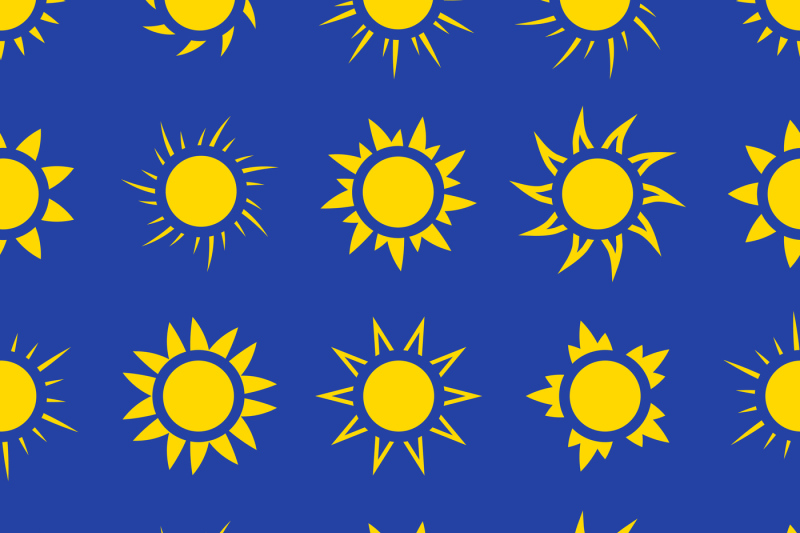 suns-in-the-sky-seamless-pattern