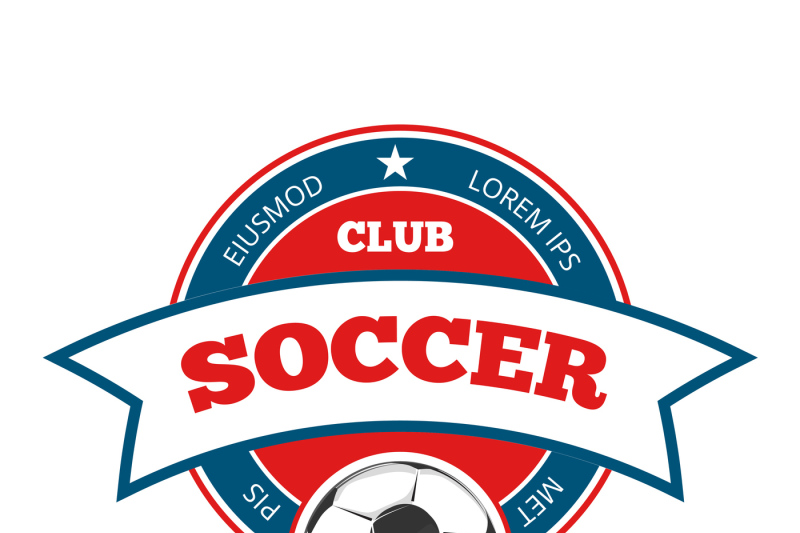round-vector-soccer-logo-template-isolated-on-white
