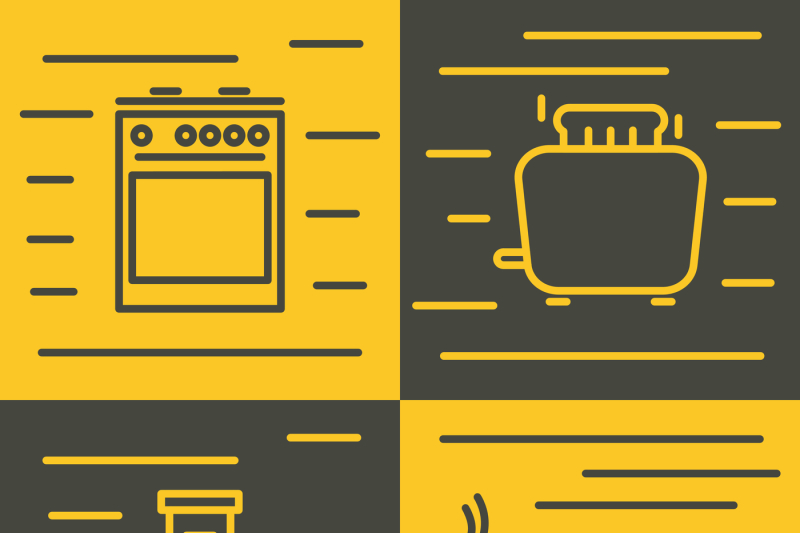 household-appliances-icons