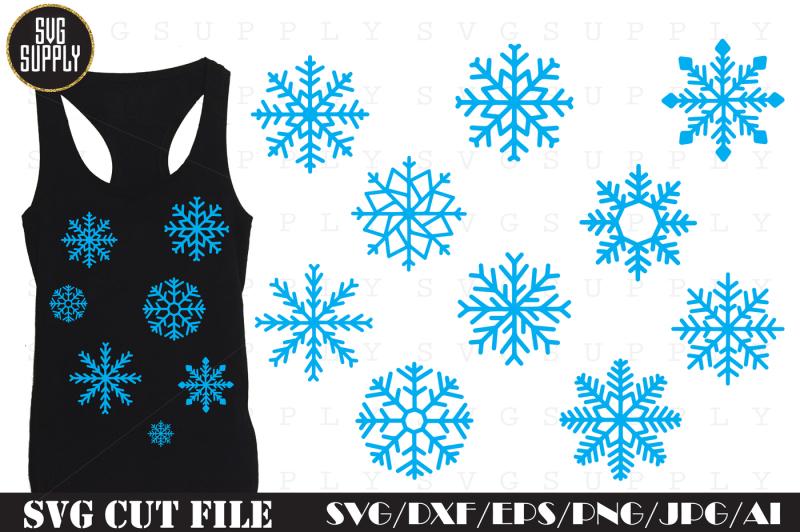 snowflakes-svg-cut-file