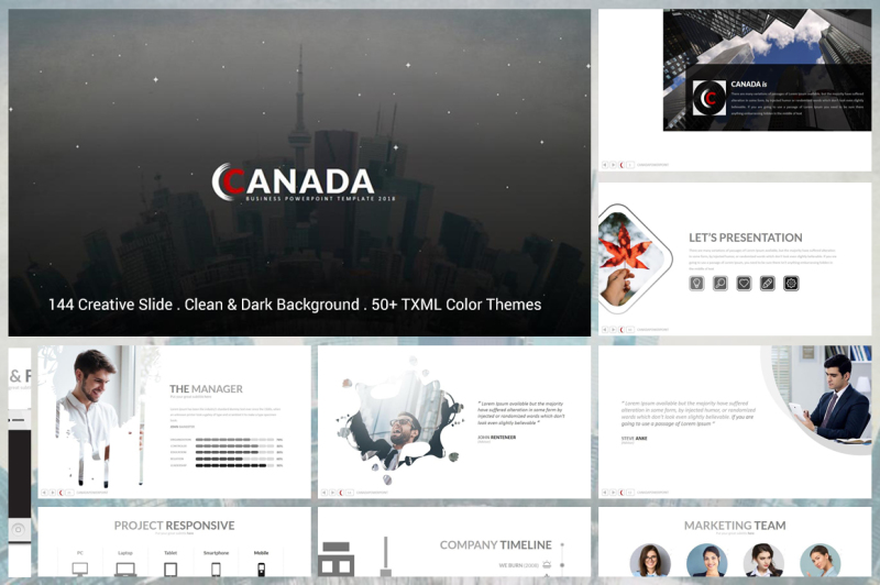 canada-powerpoint-template