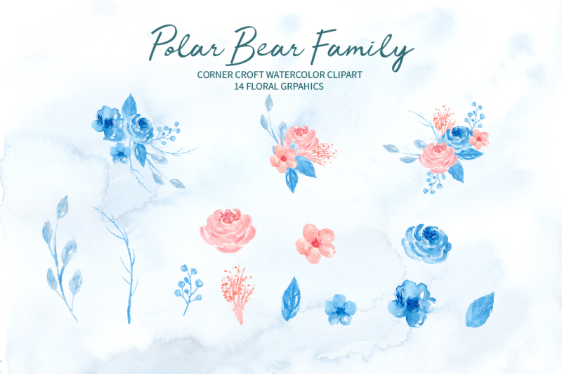 watercolor-polar-bear-family-clipart