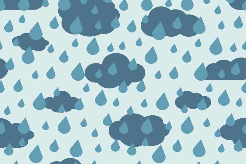 vector-rainy-weather-seamless-pattern