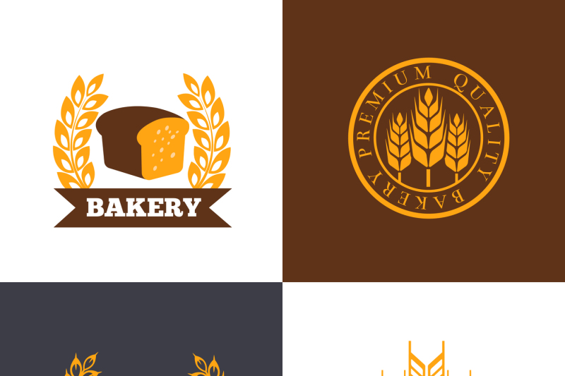 vector-bakery-and-bread-shop-logos-labels-badges-with-wheat-ears