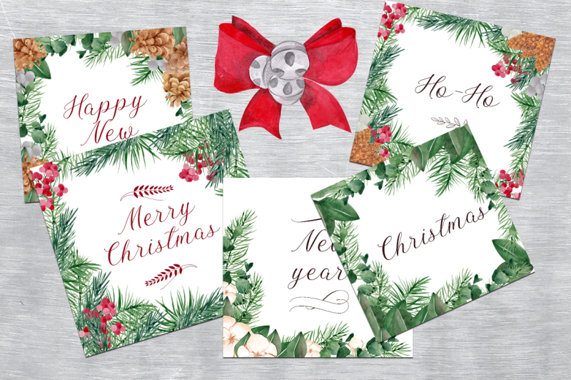 christmas-wreath-watercolor-clipart
