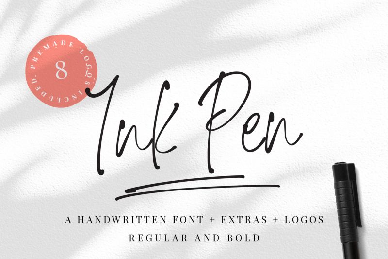 ink-pen-handwritten-font