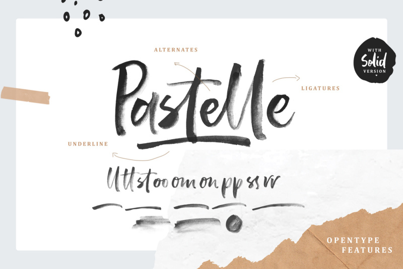 pastelle-svg-font