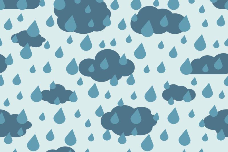 vector-rainy-weather-seamless-pattern