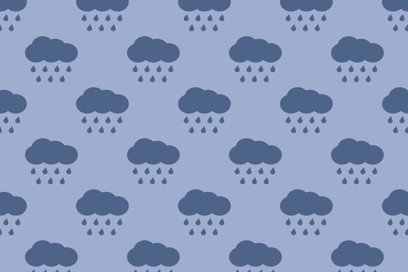 vector-clouds-and-rain-weather-seamless-pattern
