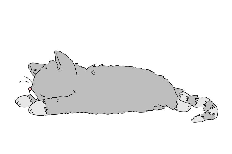 sleepy-cats-clip-art