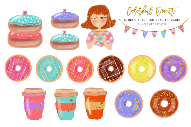 colorful-donut-clip-art-set-donut-and-coffee-clipart-donuts-shapes