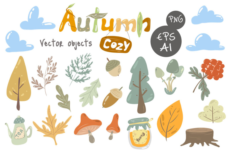 cozy-autumn-vector-animals-kit