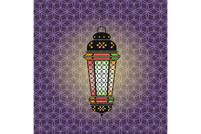 vector-ramadan-illustration-with-lantern
