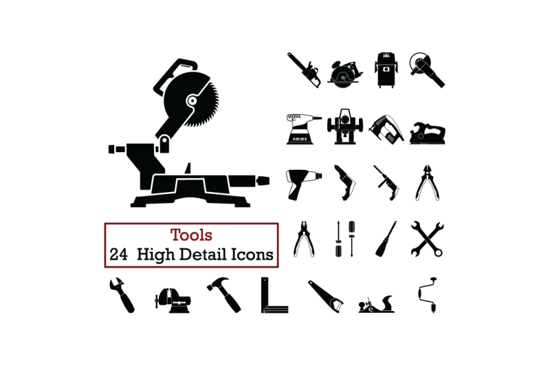 set-of-24-tools-icons
