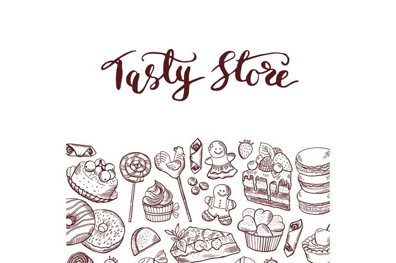 vector-hand-drawn-sweets-shop-or-confectionary