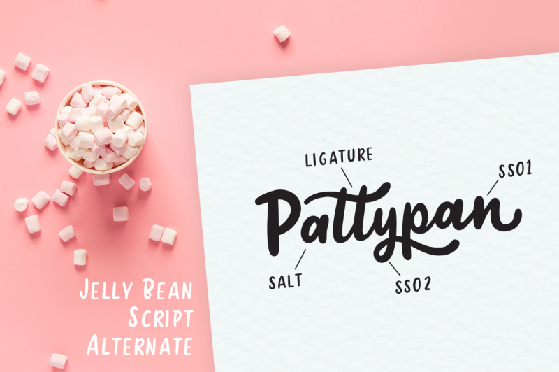 jellly-bean-script-and-sans-fun-font