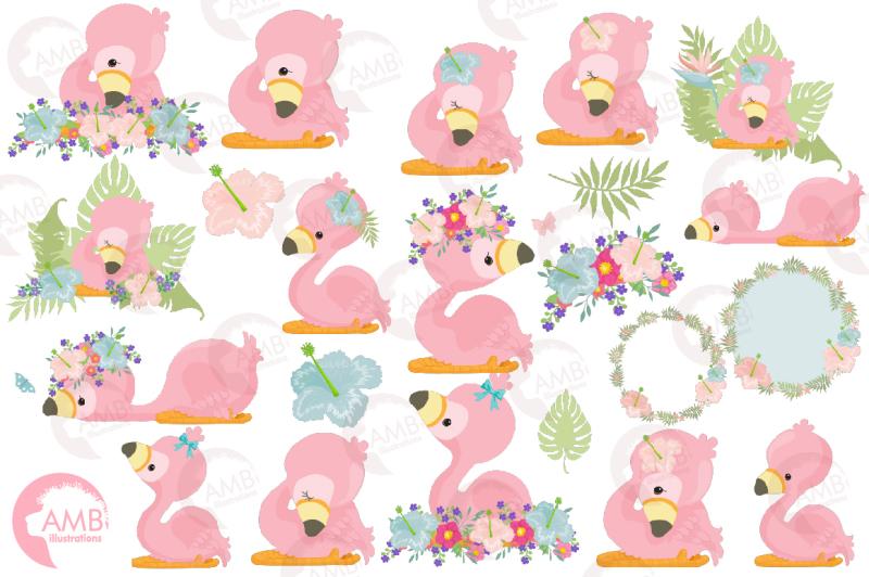 cute-flamingos-clipart-pack-amb-2470