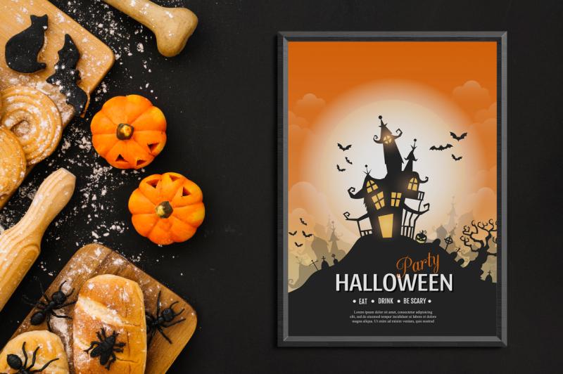 halloween-vector-posters