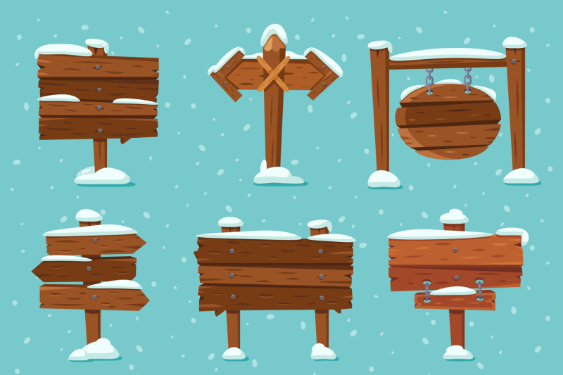 cartoon-snowed-signpost-christmas-wooden-signpost-with-snowcap-arrow