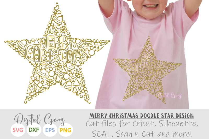 merry-christmas-doodle-star-svg-dxf-eps-png-files