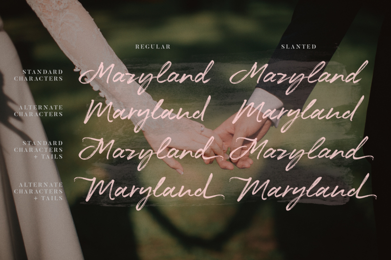 maryland-wedding-font
