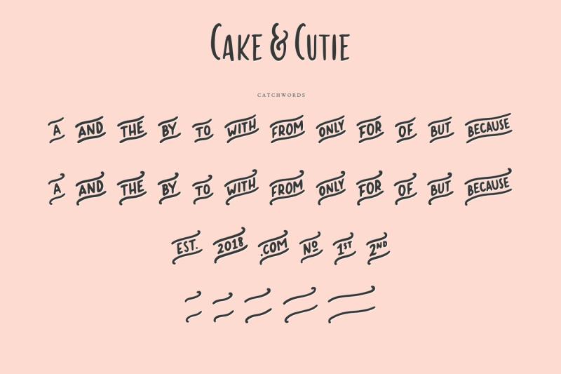 cake-amp-cutie-a-handwritten-typeface