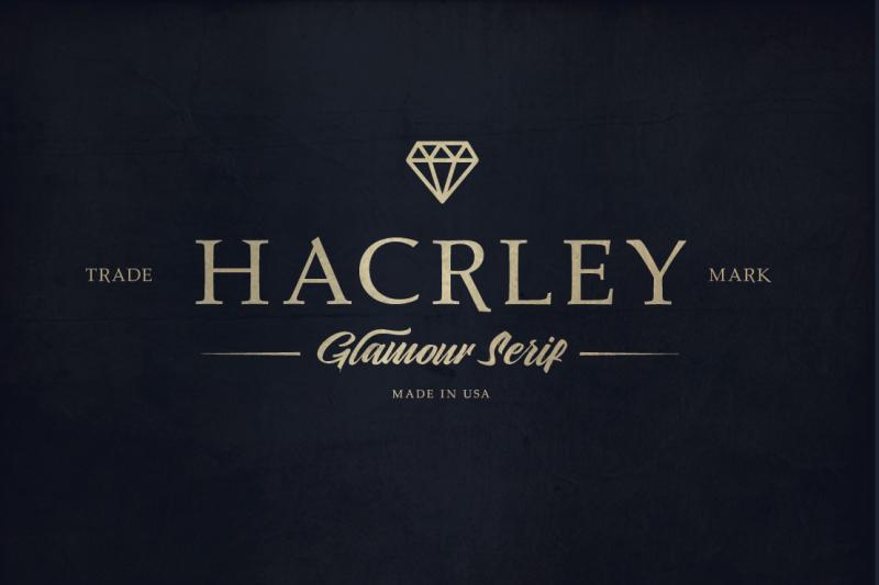 hacrley-serif-font