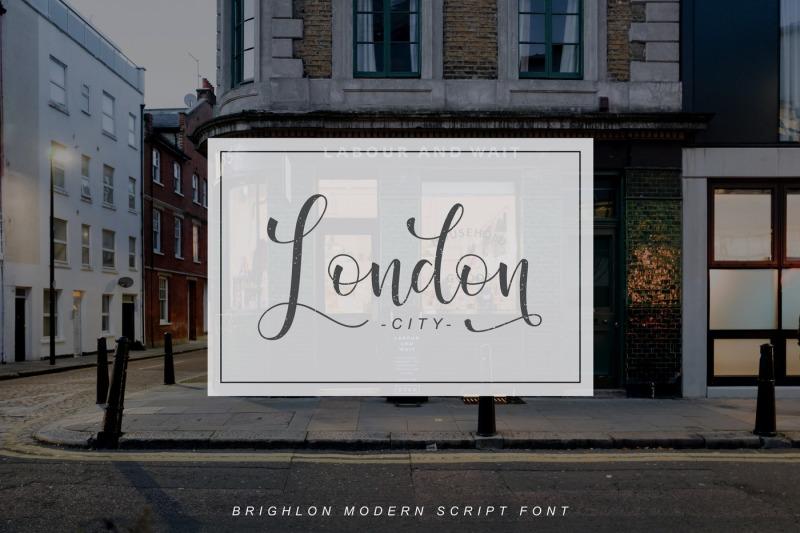 brighlon-modern-script-font