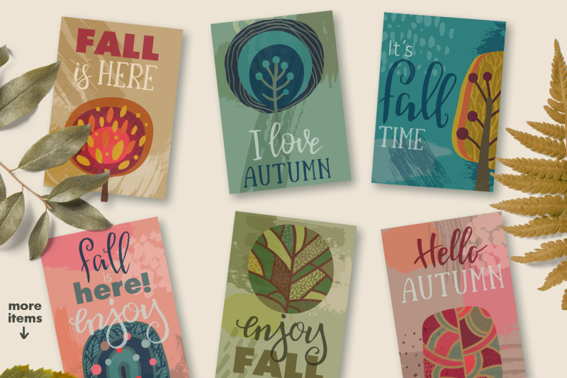 bright-fall-vector-collection