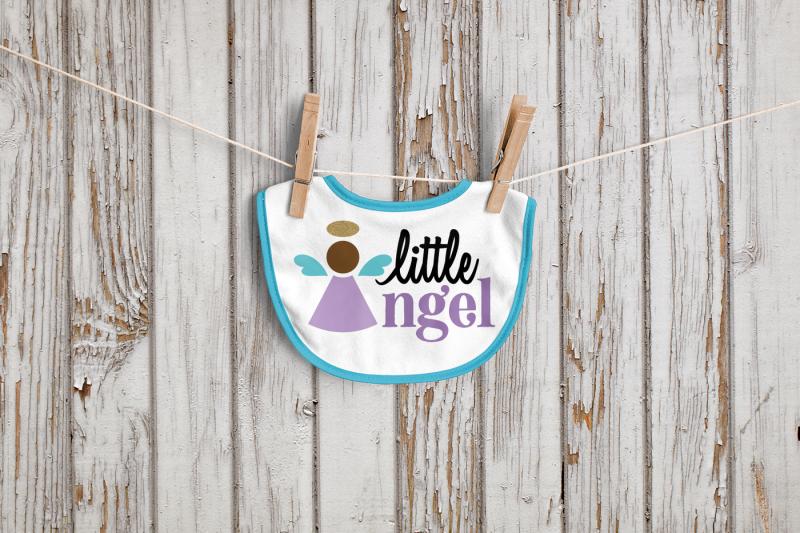 little-angel-svg-png-dxf