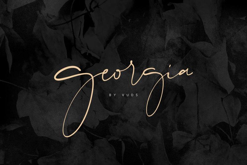 georgia-script