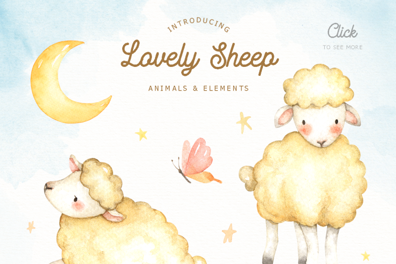 lovely-sheep-watercolor-clip-art