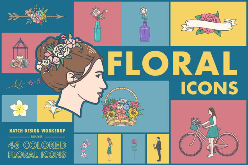46-colored-floral-icons-flower