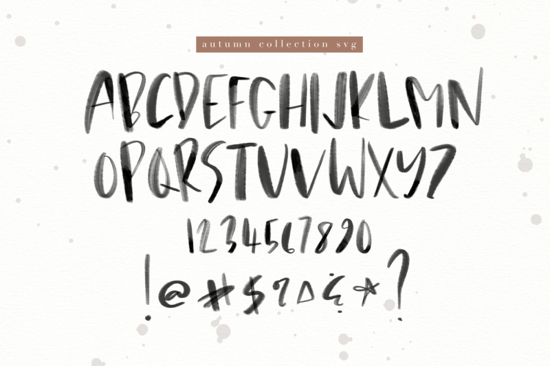 autumn-collection-svg-and-otf-font