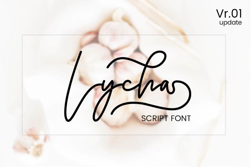 lycha-font