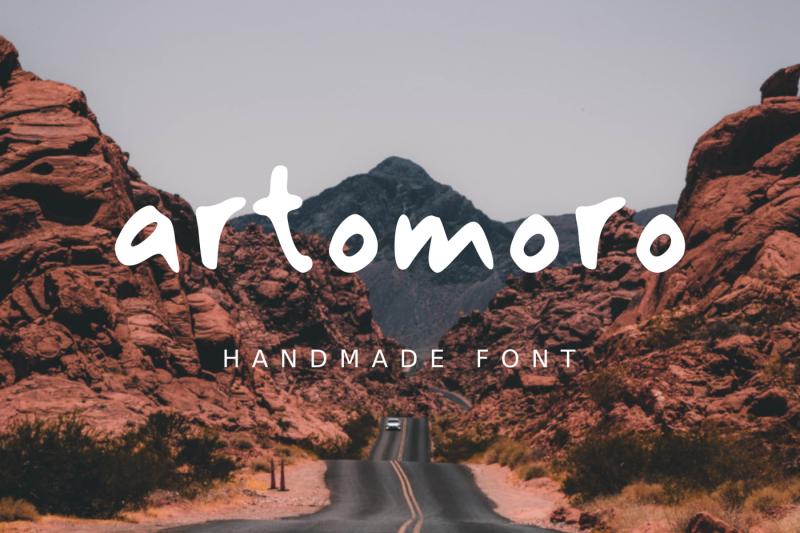 artomoro-handmade-font