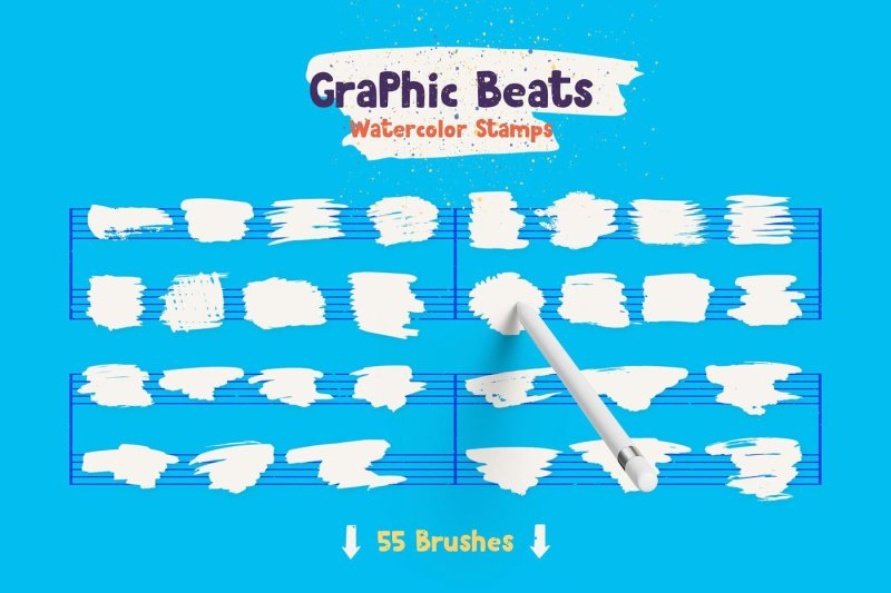 graphic-beats-brushes-for-procreate