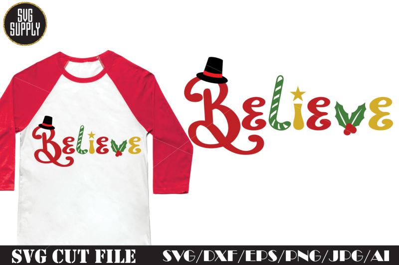 believe-svg-cut-file