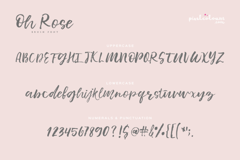 oh-rose-brush-font