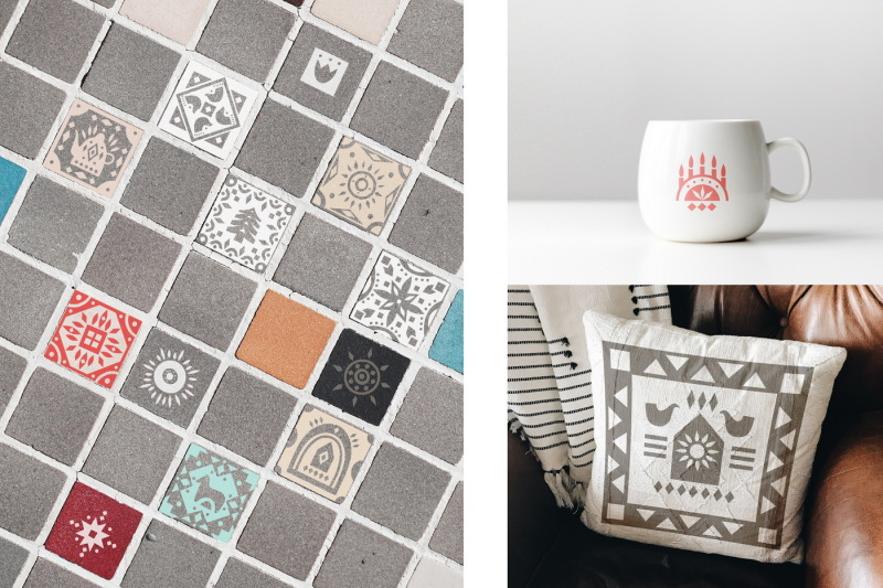 folk-tile-graphic-collection