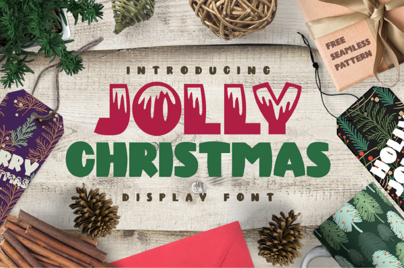 jolly-christmas-font