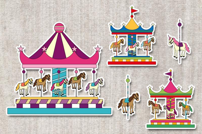 carousel-merry-go-round-clipart