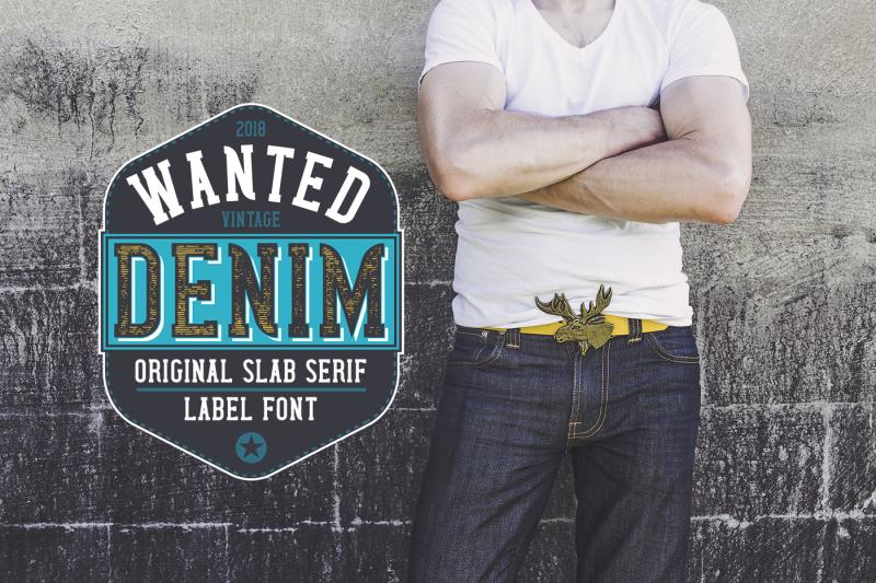 wanted-denim-layered-font