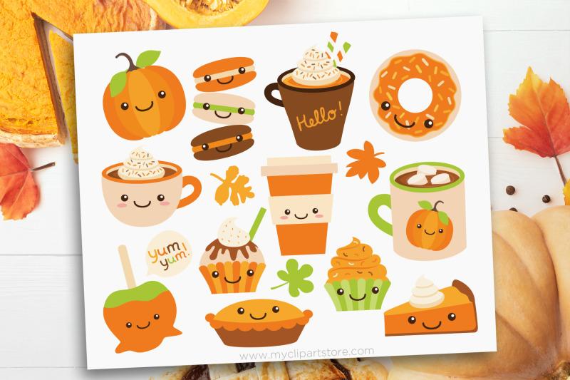 pumpkin-spice-fall-treats-vector-clipart