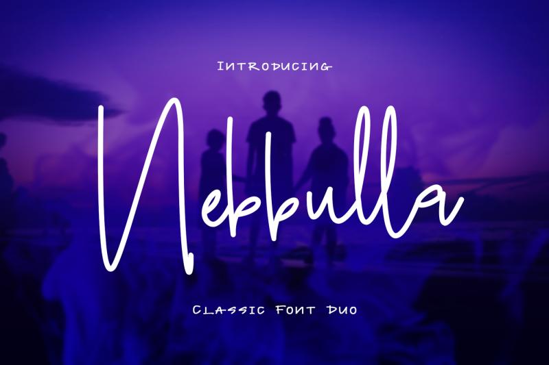 nebbulla-font-duo