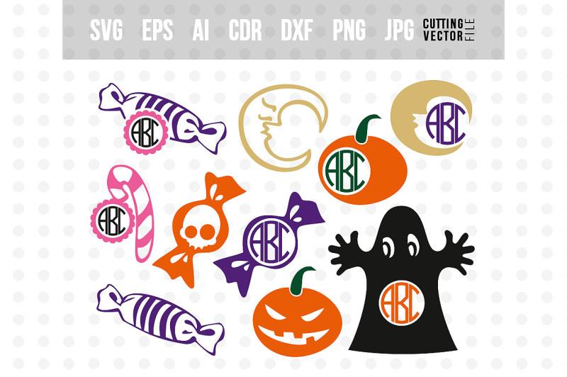halloween-monogram-svg-bundle-svg-eps-ai-dxf-png-jpg