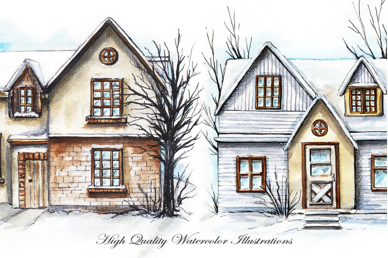 three-winter-houses